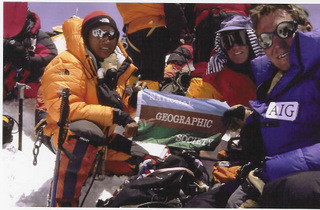 Everest Summit, 2002.